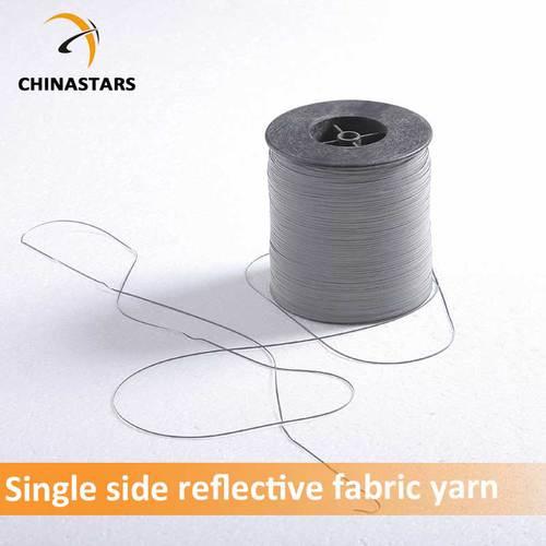 single side reflective fabric yarn for knitting