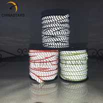 Segmented reflective binding tape