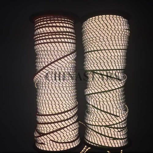 Segmented reflective binding tape