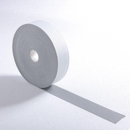 silver single side elastic reflective fabric