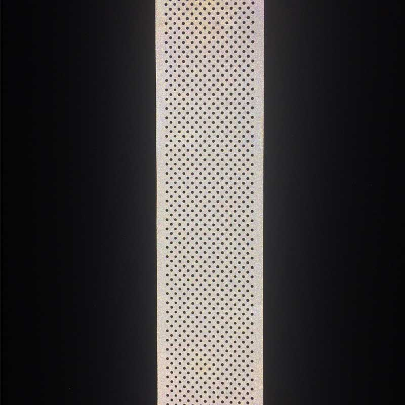 Perforated reflective fabric (5cm)