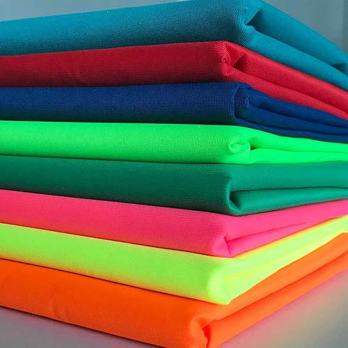 120gsm fluorescent tricot safety vest fabric