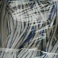 Double layer reflective piping tape for clothing