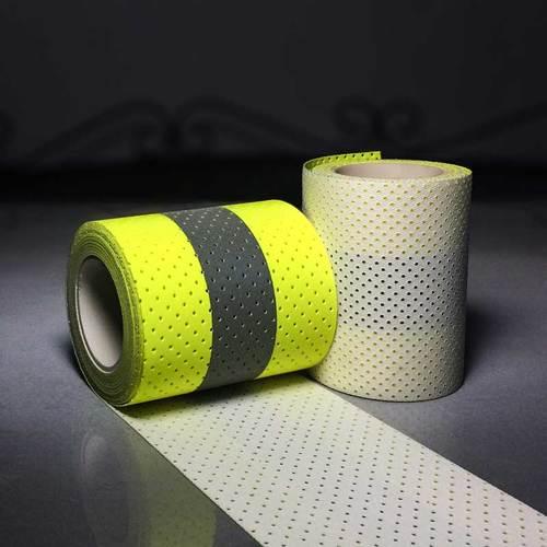 Perforated Flame retardant reflective tape