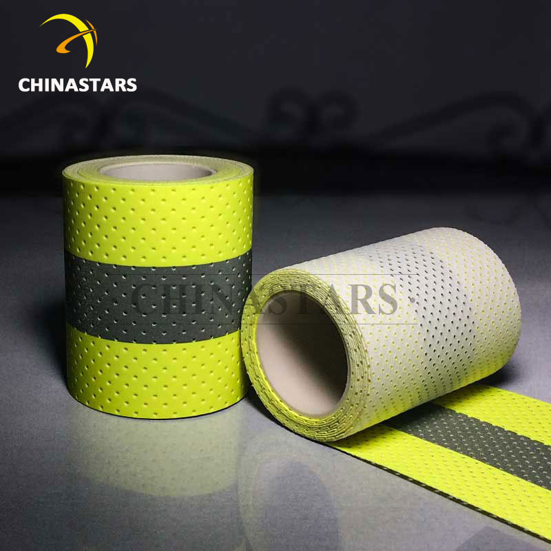 Perforated Flame retardant reflective tape