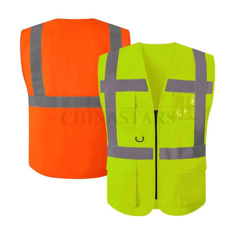 EN20471&ANSI107 Class 2 high visibility vest