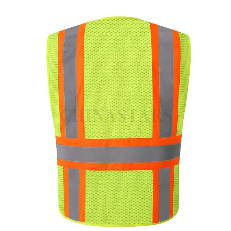 ANSI107 Class 2 4 Point Breakaway Reflective Vest