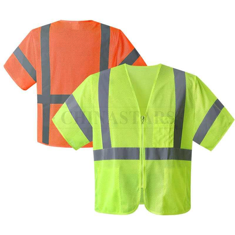 ANSI107/CSA-Z96 Class 3 high visibility safety vest