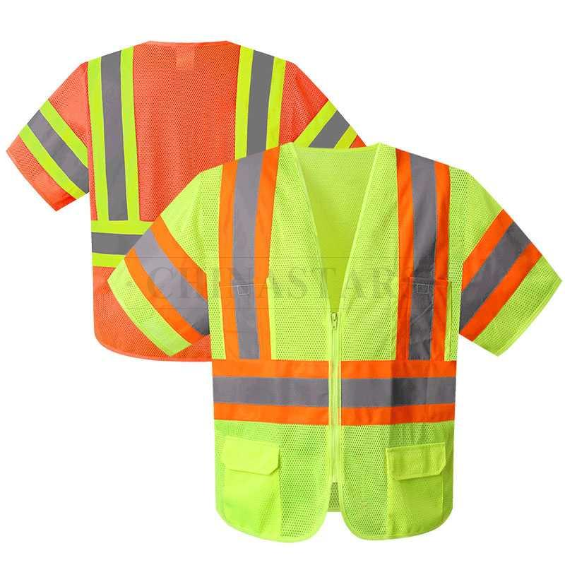 ANSI107 Class 3 high visibility safety vest