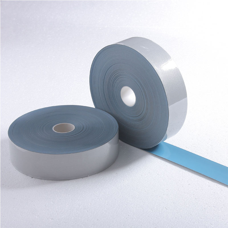 Silver Elastic reflective heat transfer film