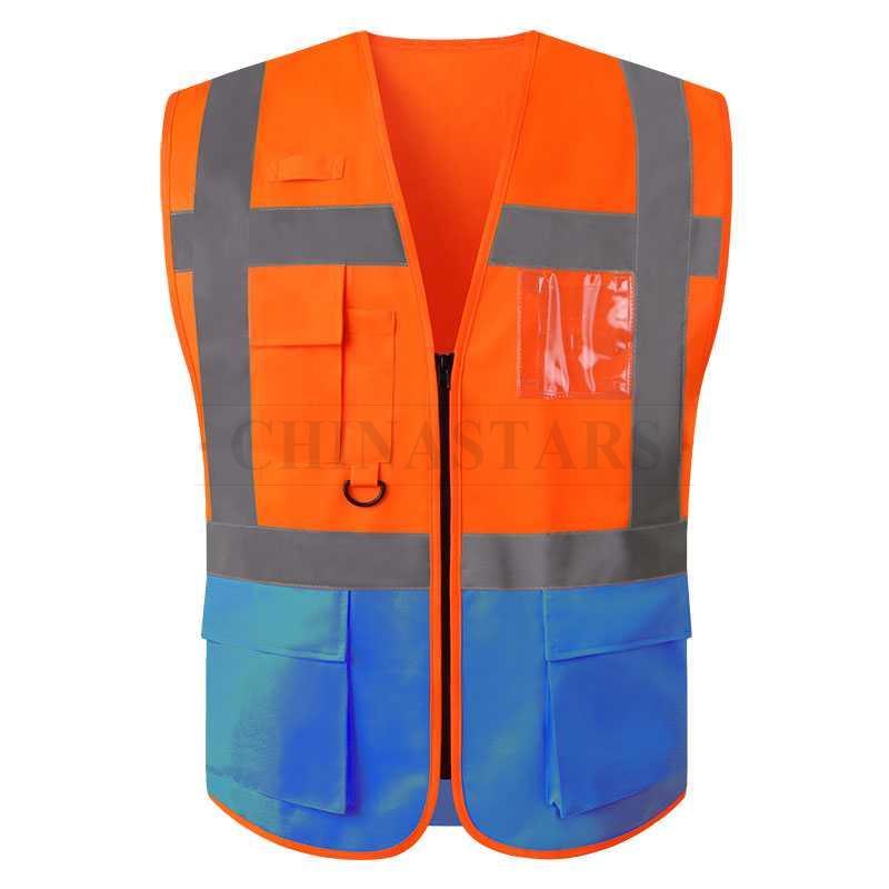 EN20471 & ANSI107 Class 2 safety vest
