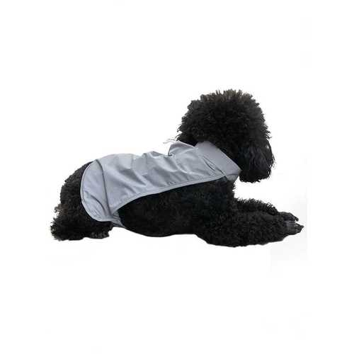 pet reflective vest with hook and loop closure