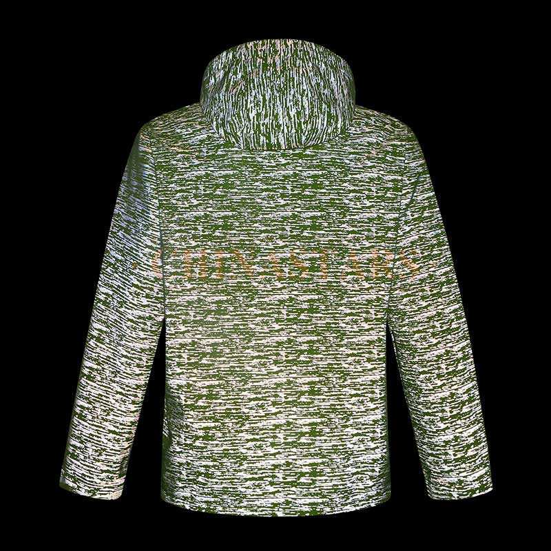 Reflective pattern printing jacket