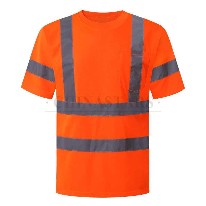 ANSI 107 & EN 20471 Class 3 Hi vis reflective T-shirt
