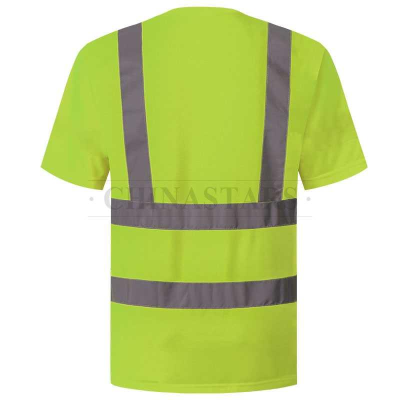 High Visibility Class 2 Birdseye mesh reflective T-shirt