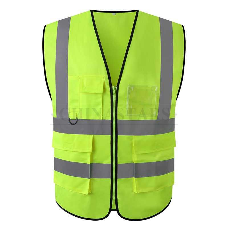 Csv 002 Safety Vest With Multifunctional Pockets 2 Colors