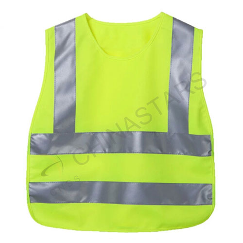 High visibilty colorful children reflective vest