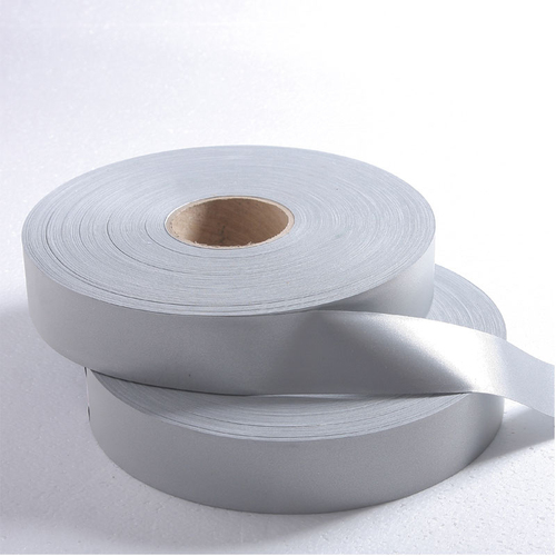 Silver TC reflective tape for clothing EN 20471 Class 2