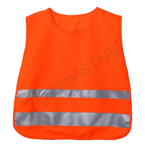 Top quality children safety vest with reflective tape