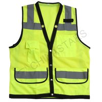 Hi viz mesh safety vest 3 colors available