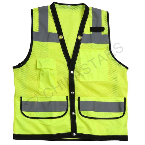 Hi viz mesh safety vest 3 colors available
