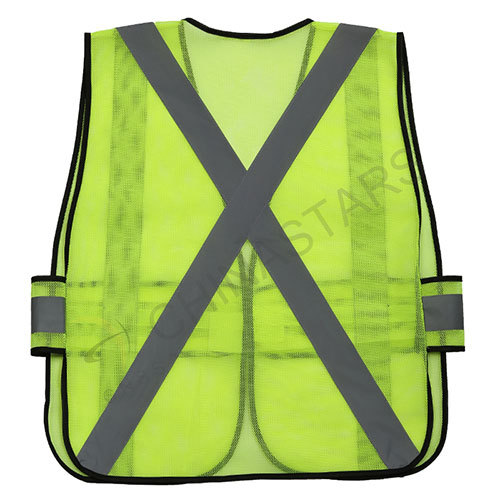 EN20471 Mesh safety vest with reflective tape