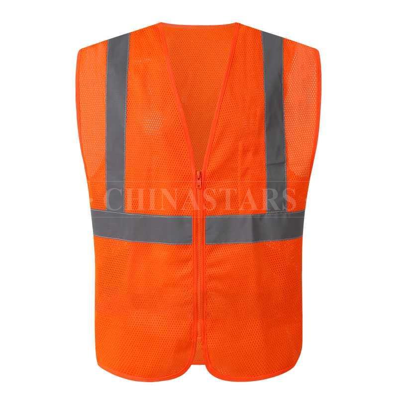 ANSI107 Class 2 mesh safety vest