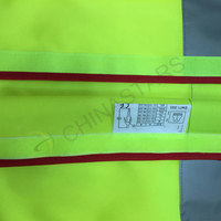 Colorful safety vest with velcro