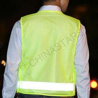Reflective safety vest with multi pockets