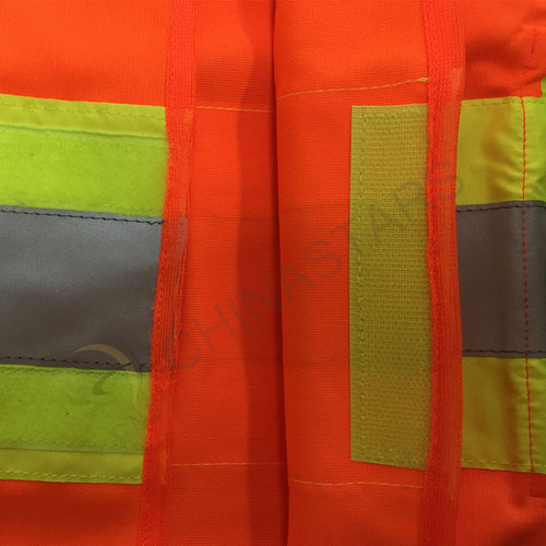 Multi color safety vest with reflective tape