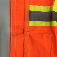 Colorful reflective safety vest with pockets