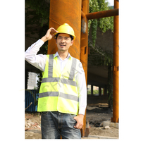 Classic safety vest with velcro 2 colors available