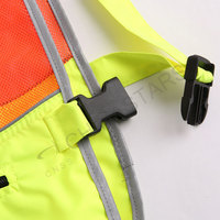 Hi-vis reflective vest for athelets