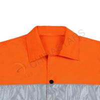Short sleeve hi-vis reflective shirt