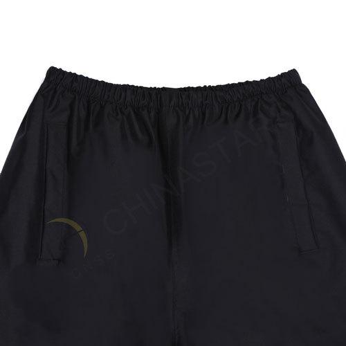 Black reflective pants