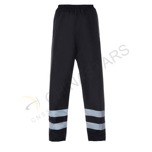 Black reflective pants