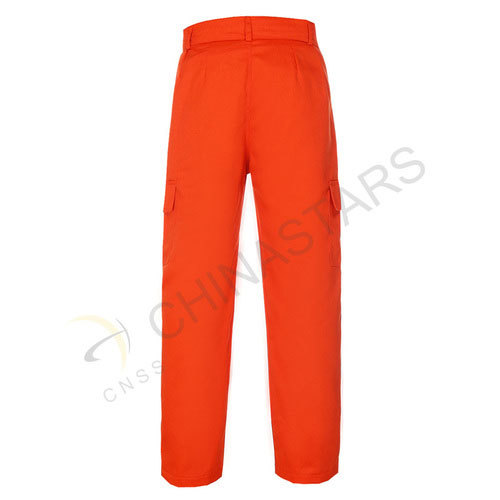 Hi-vis fluorescent orange pants