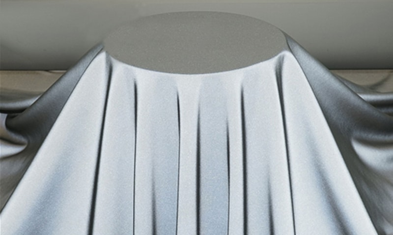 Reflective outer shell fabric