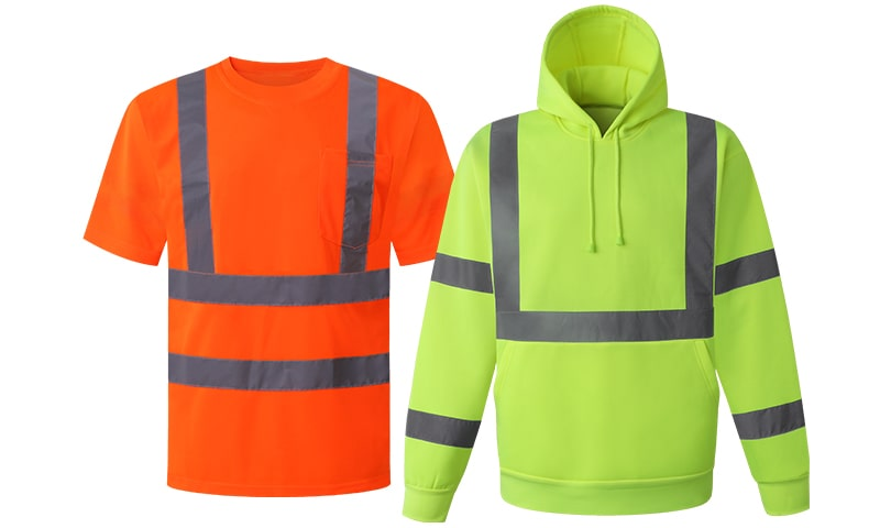 Safety shirts & sweatshirts