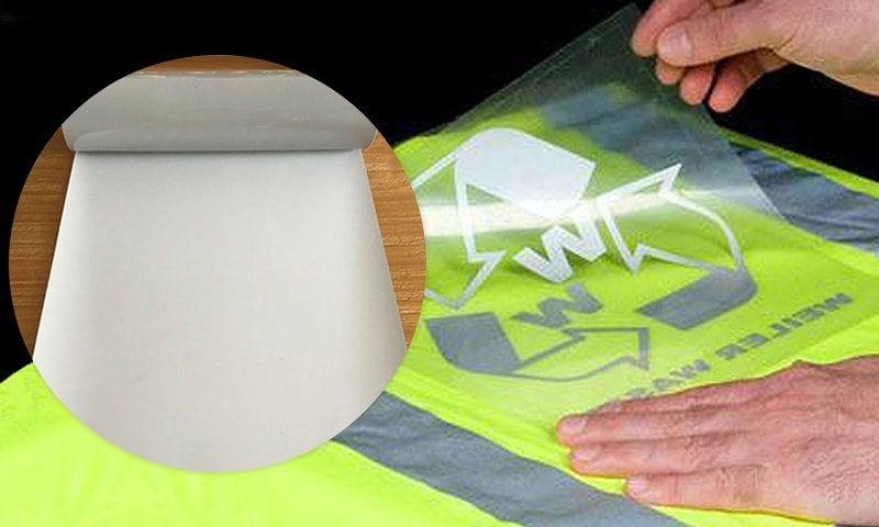 Silver reflective film for screen printing