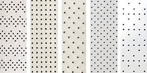 Customizable perforated reflective fabric