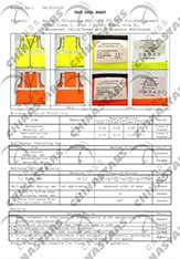 ANSI Class 2 for safety vest
