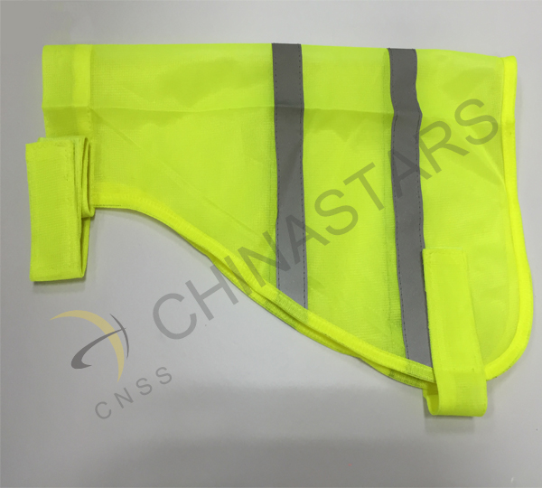 Reflective safety vest keep dogs safer
