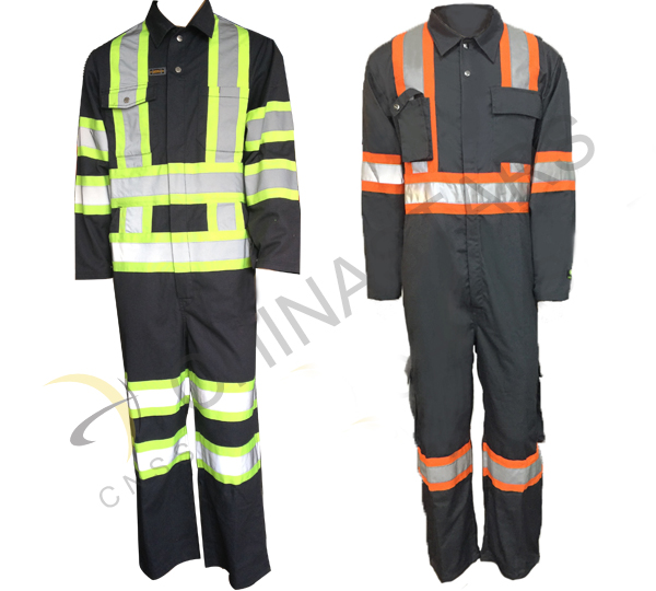 Uniform with FR reflective tape prepared for firefighters in Tianjin