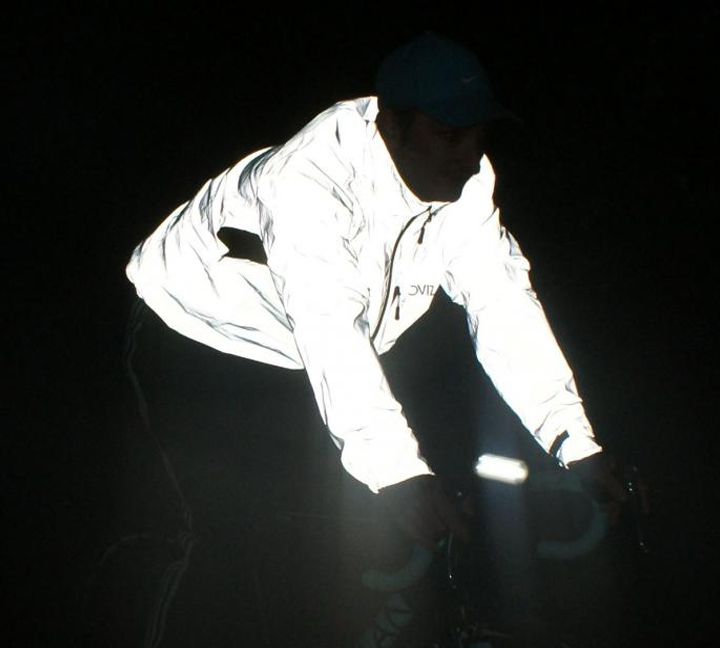 Reflective vest is important to riders