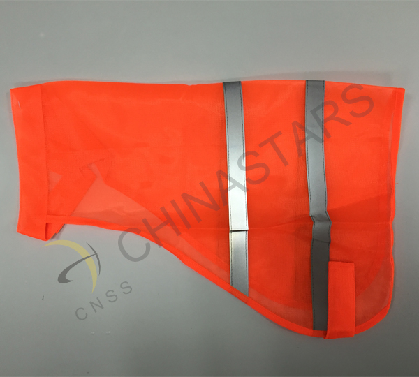 Police department received safety vest for police dogs
