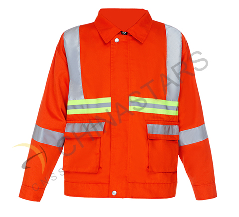 High visibility clothing for industry workers