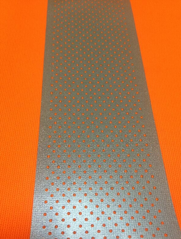 perforated reflective heat transfer film