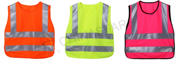 colorful children safety vest