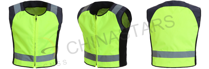 Wear reflective clothing while cycling